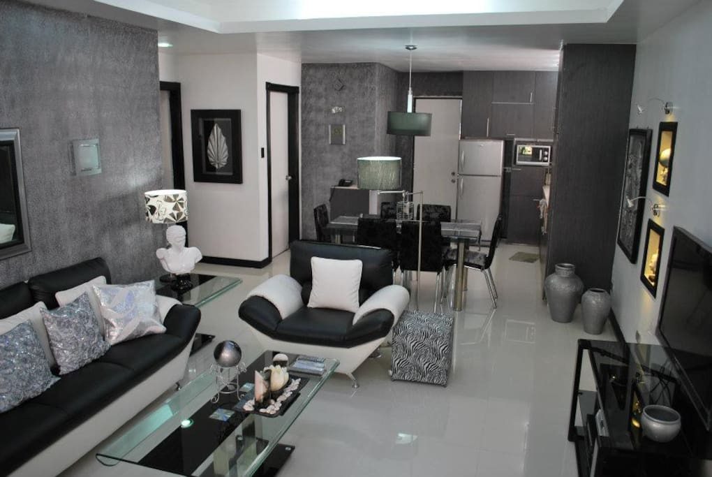A total of 40 Sqm (430.56 Sqft)Living and Dining Rooms