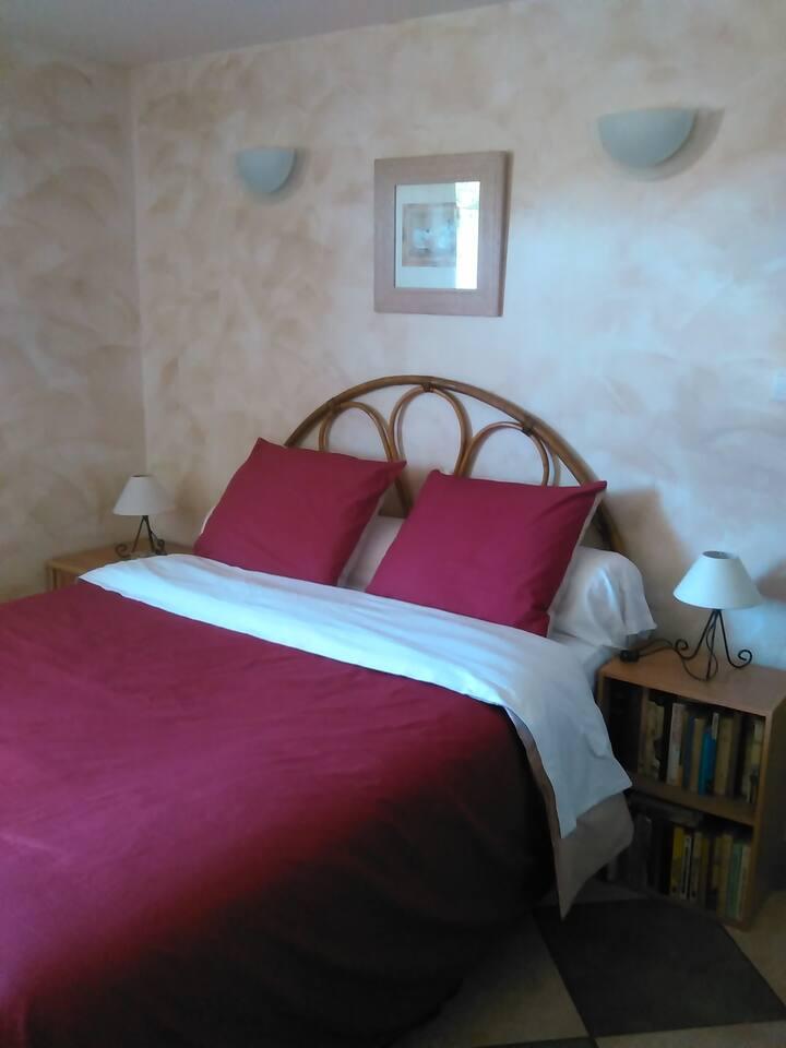 Chambre meublée avec jardin à 5mn de Carcassonne