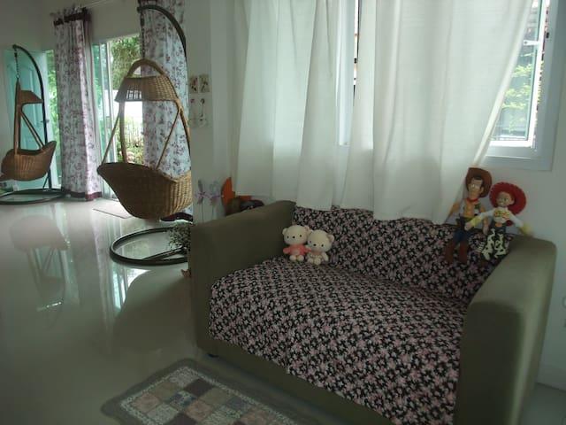 เรียบง่ายผ่อนคลายมิตรภาพนอกกรุงเทพ - Mueang Ratchaburi - บ้าน