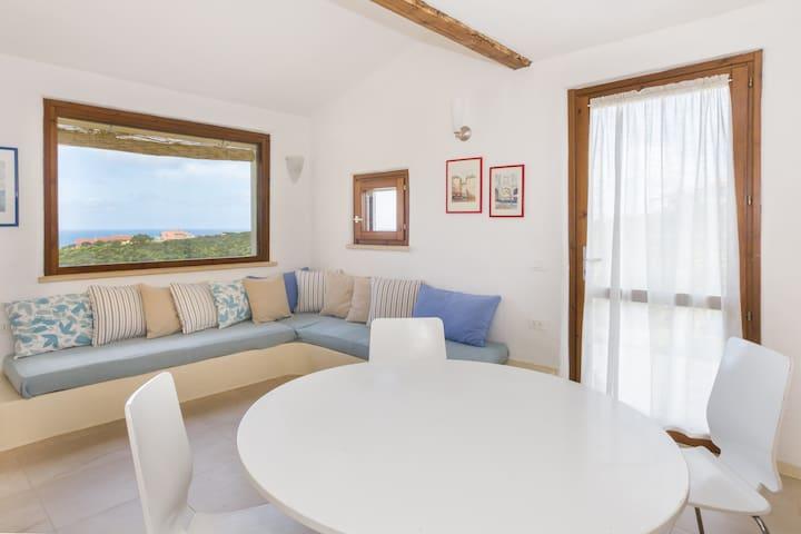Casetta 3 con giardino in Sardegna
