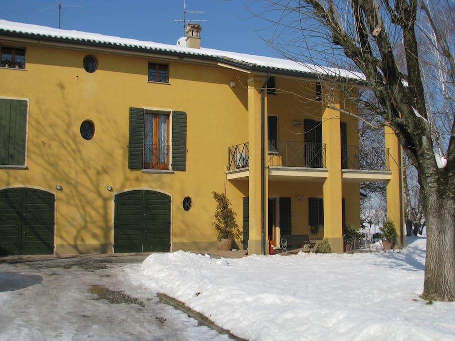 facciata casale