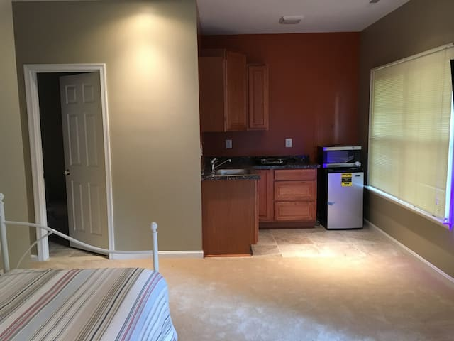Serene Furnished Studio near Dulles Airport - Ashburn - Townhouse