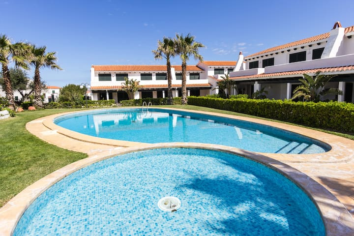 Nice House swimming pool&sea views - Arenal d'en Castell - Huis