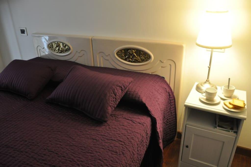 Camera da letto: può essere trasformata in camera doppia con due letti singoli separati