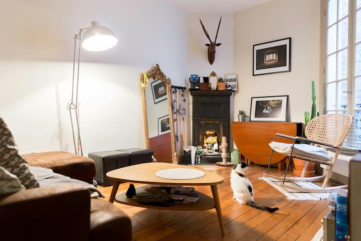 Chambre cosy proche de Notre-Dame de Paris