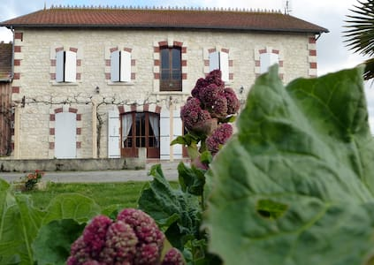 Perfect cottage for 12 persones - Mortagne-sur-Gironde - Casa