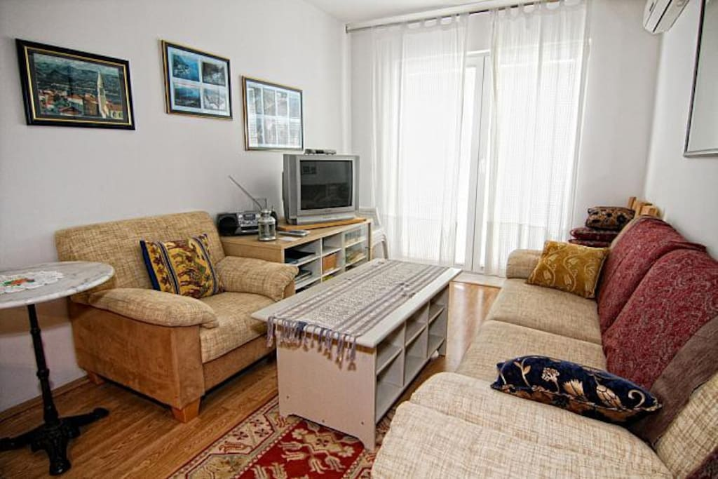 3 rooms apartment 50 m from the sea