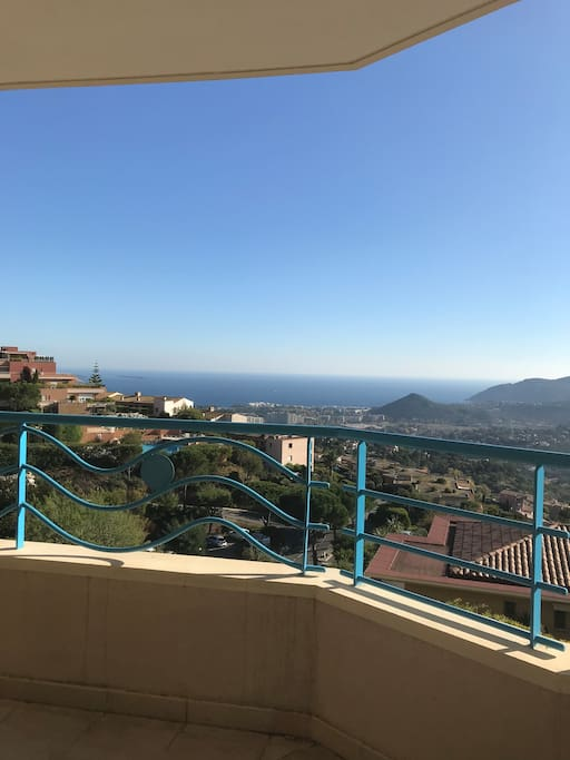 Good morning view of Cote D'Azur
