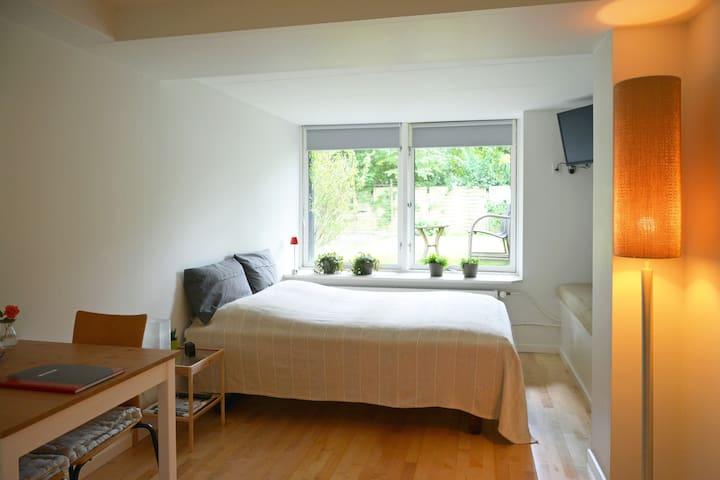 Nyistandsat hyggelig og lys studiolejlighed - Aalborg - Casa