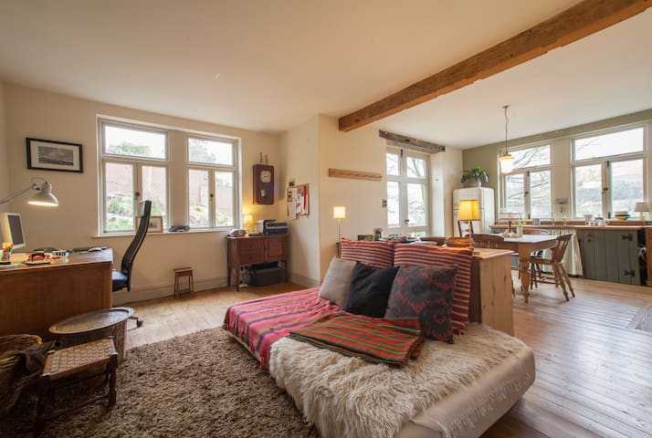 Quirky and Charming Garden Flat - Giggleswick - Dom