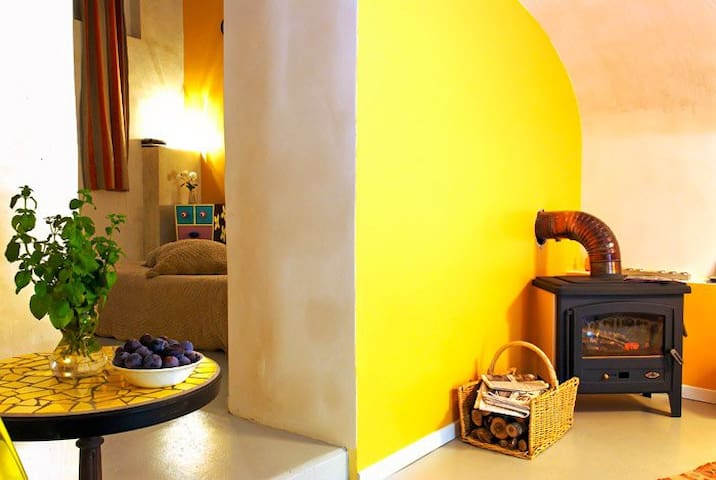 LE MOULIN DE GAUTY - Yellow room