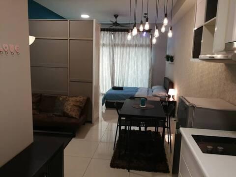 [Feel Home] Comfortable Studio+500mbps WIFI