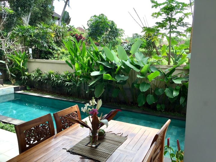 Peaceful Studio Appartment with aircon shere pool