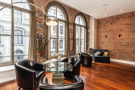 Designer 1BD Loft in Old Montreal - Montreal - Apartment