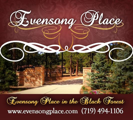 EVENSONG PLACE in the Black Forest - Colorado Springs - Casa