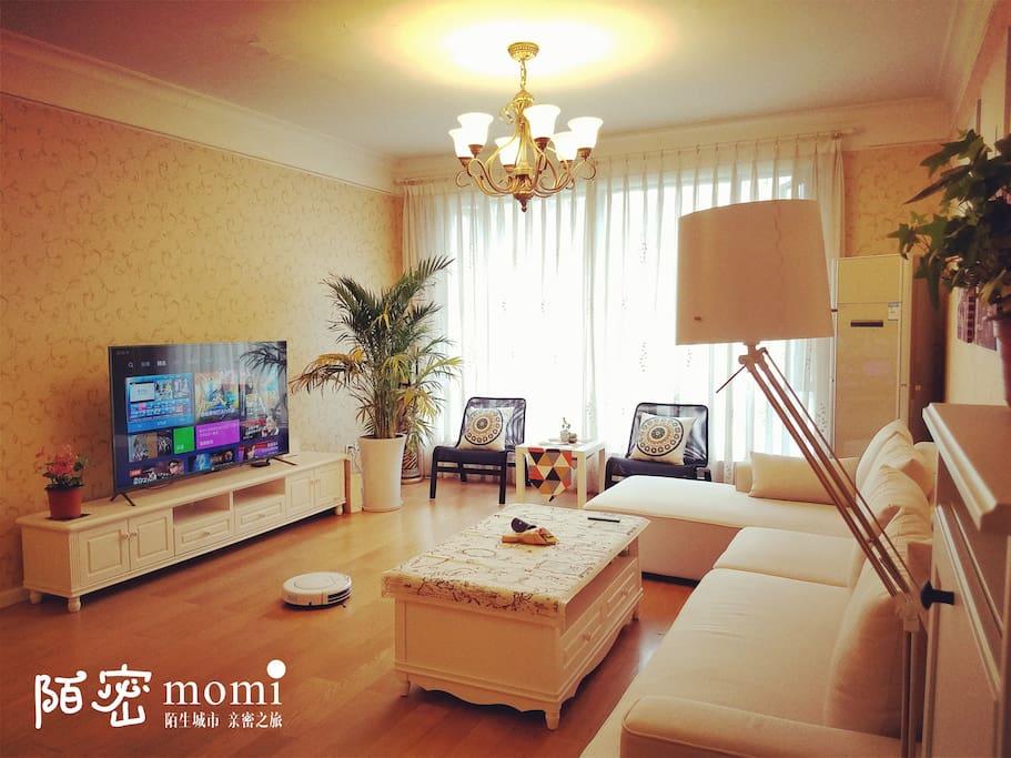 客厅-小米60寸电视
