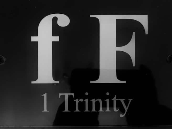 fF No 1 Trinity