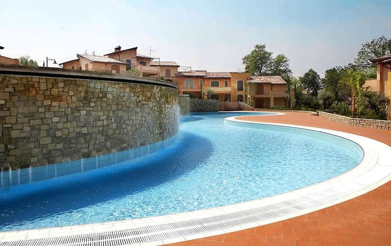 Residence - First swimming pool