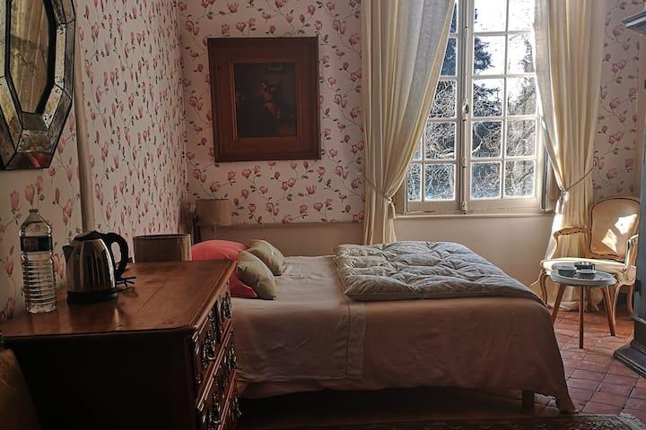 Château de Montchevreau : la chambre Le Perchoir
