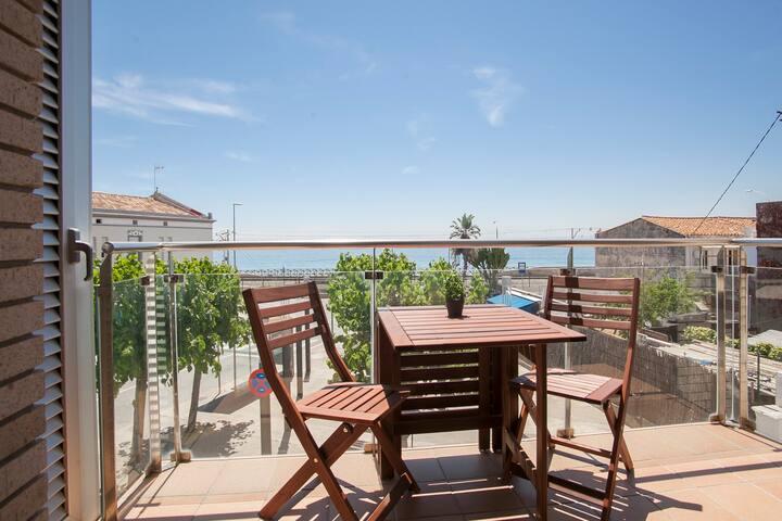 Apartamento en primera línea de mar en Montgat