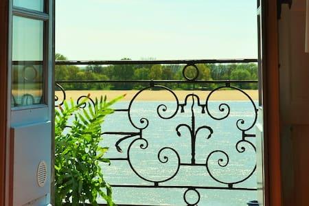 Logement de charme vue sur Loire à Ingrandes - Le Fresne-sur-Loire - 公寓