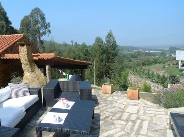Villa with beautiful view & pool - Fragoso - Barcelos - Vila