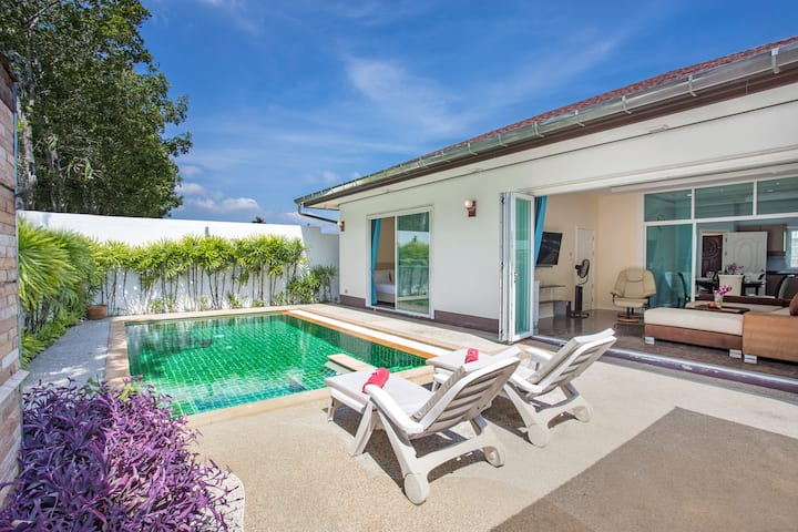NATHA Villa, Better than home. 3 Bdr Pool Villa