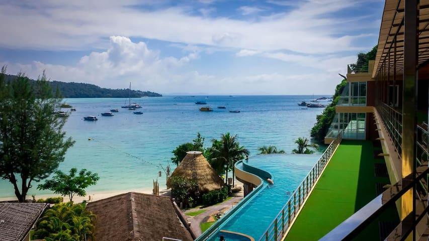 Phi Phi Beach Resort Pool & Sea View Room