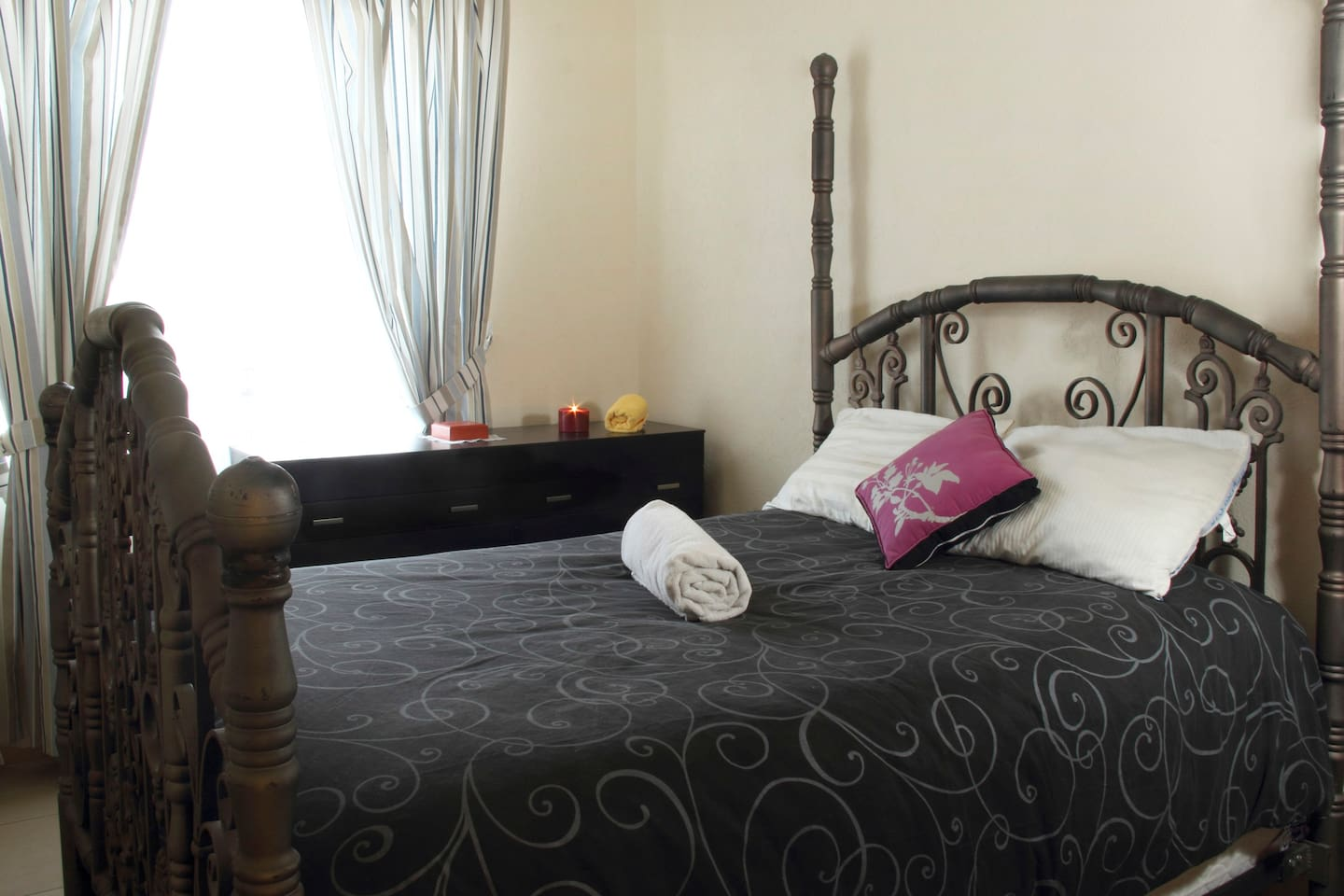 Double fully furnished bedroom