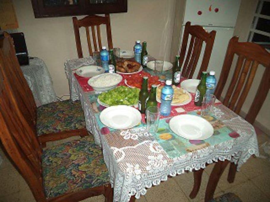 cena cubana  Cuban dinner