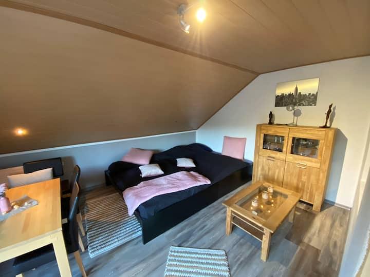 Balkon Zimmer in der Vinxt-Bach-Scheune