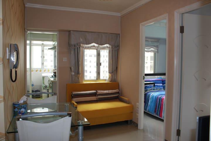 MK Home sweet home for 6 pp - Hong Kong - Departamento