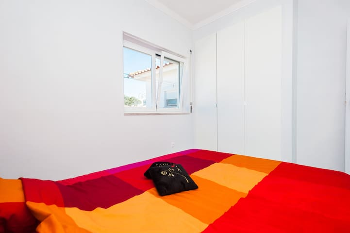 Bright and colorful Bedroom!