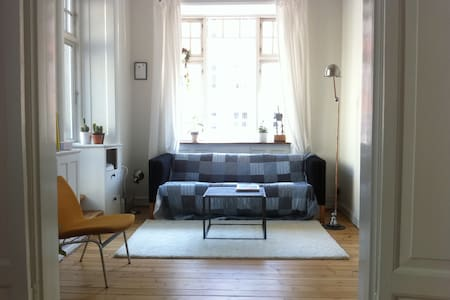 Central flat w.terrace in Vesterbro