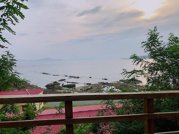 【这厢·島】八大关三浴临海半岛loft