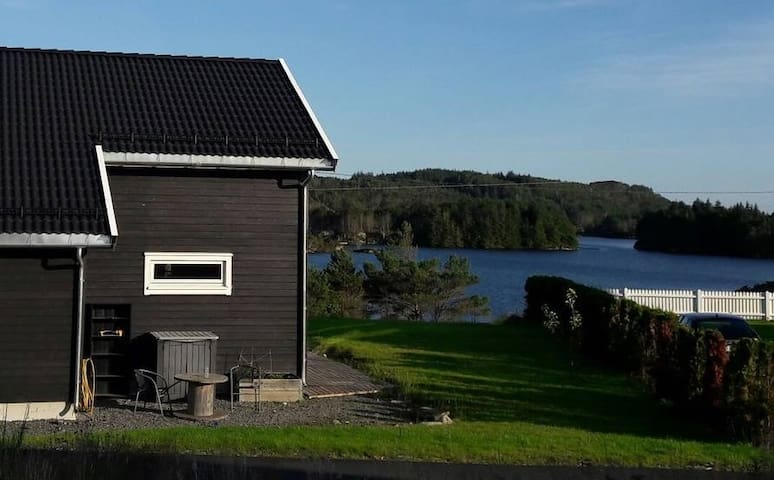 Hus i havgapet på idylliske Tofterøy!