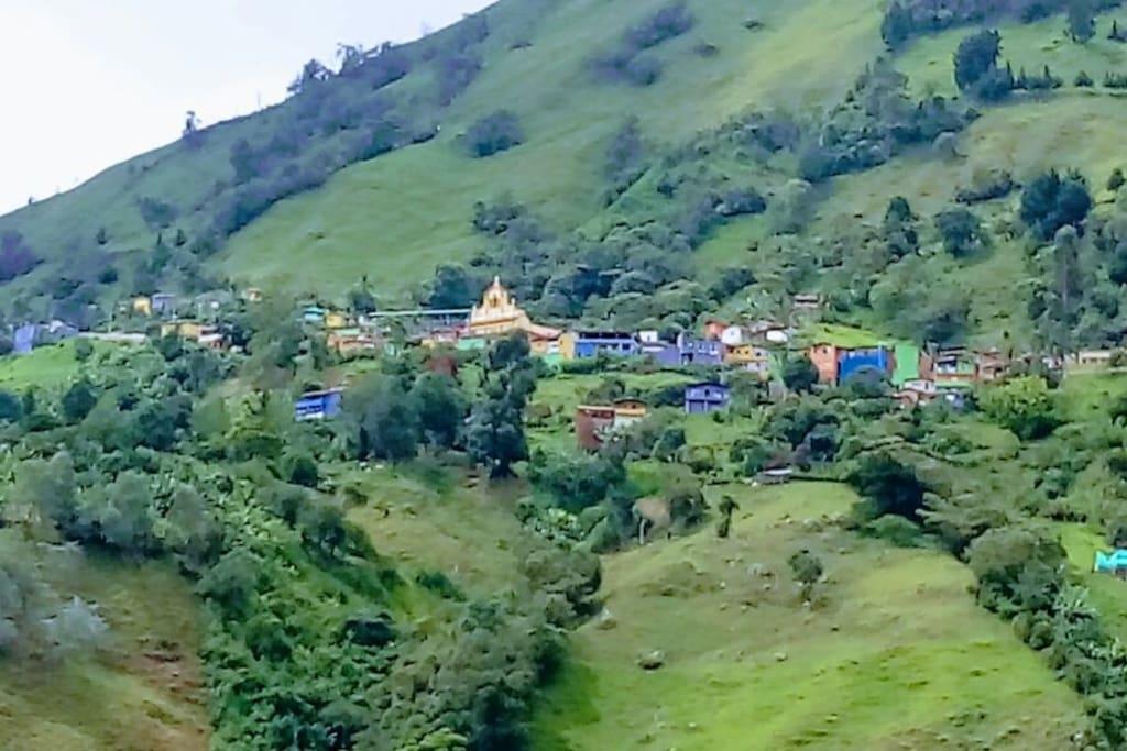 Corregimiento de San Sebastian de Palmitas, Medellín.