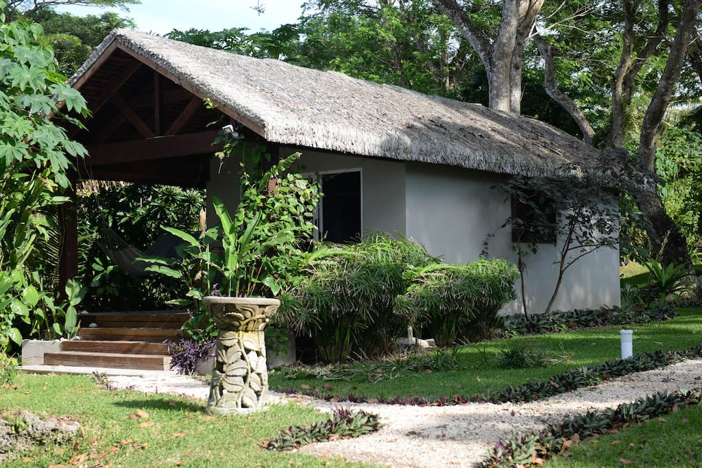 Bungalow from the front