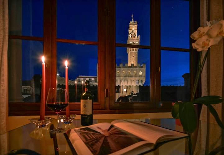 "Stunning ""Camera con vista"" Loft w/ Unparalleled 360 View"