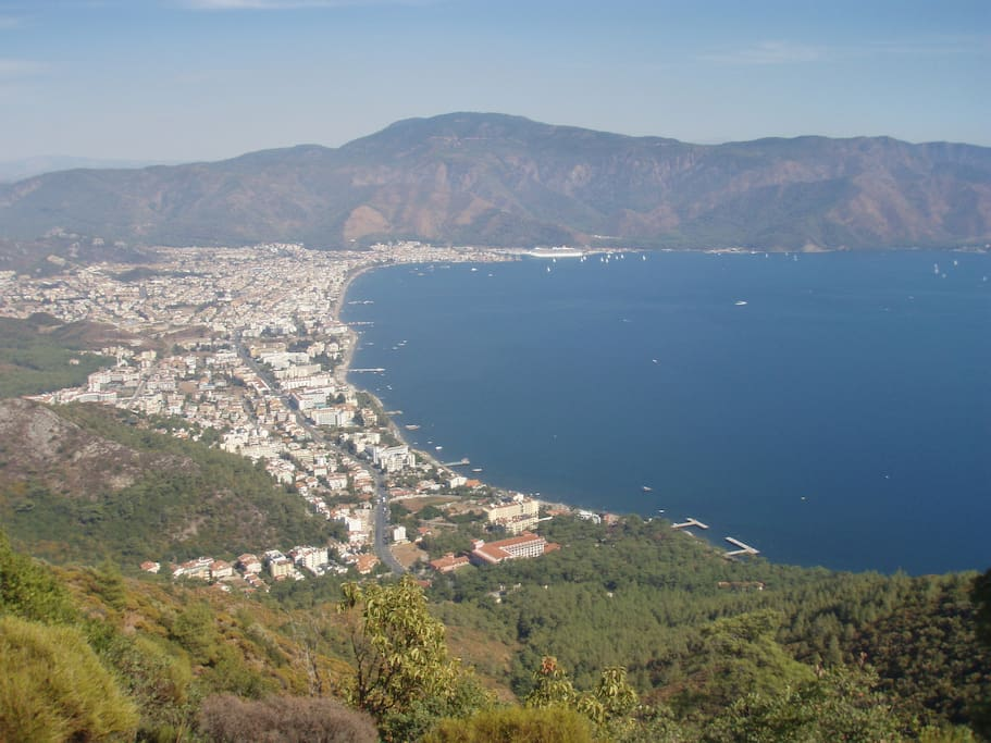 Panaromic view of Marmaris