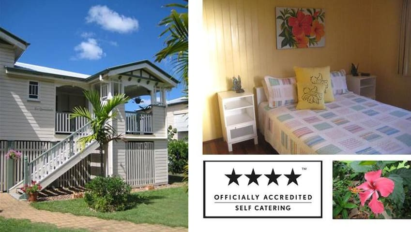 Eco Queenslander, Historic Holiday Home - Maryborough - Casa