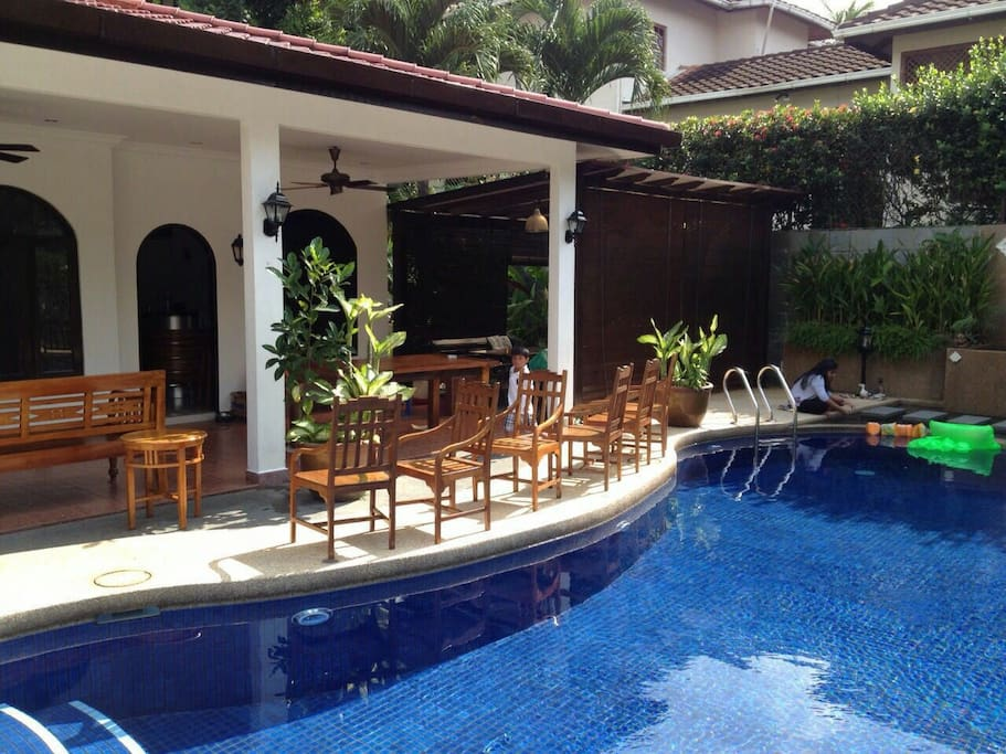 Relaxing Bungalow With Pool And Bbq Houses For Rent In Ampang Selangor Malaysia