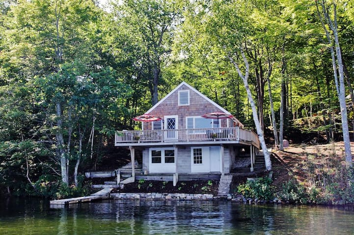 2BR E. Wakefield Waterfront Cottage - NH - House