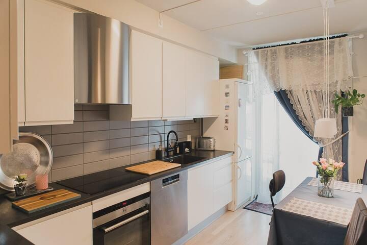 Ledig rom i moderne leilighet, Drammen sentrum