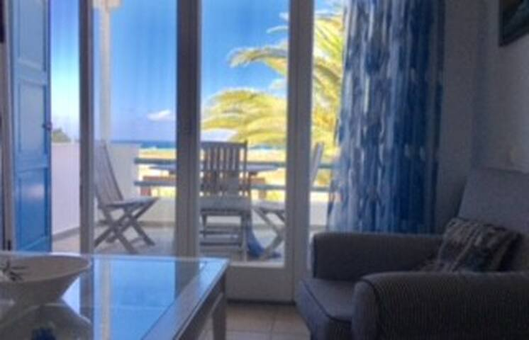 A wonderful sea view two bedroom house.