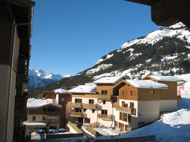 Duplex apartment on the ski slopes in the Alps - Aussois - Condominium