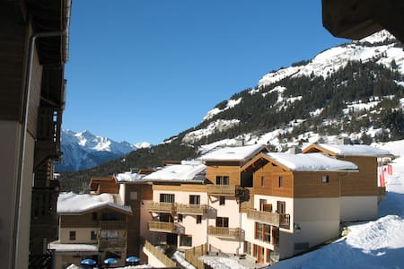 Duplex apartment on the ski slopes in the Alps - Aussois - Lejlighedskompleks