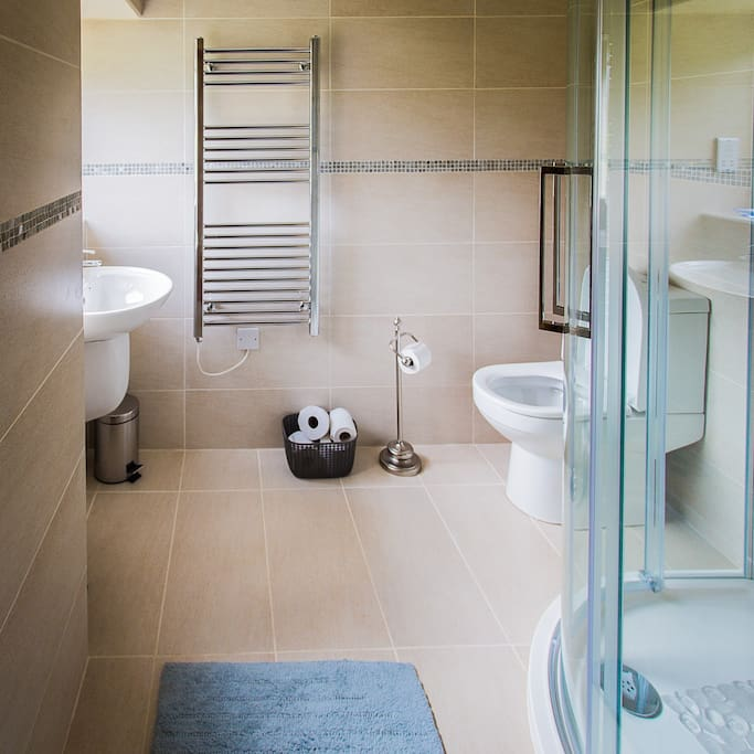 Spacious en-suite shower room