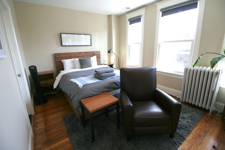 S1. Master bedroom with private bathroom