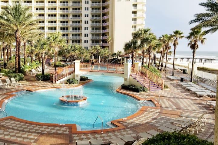 509 Shores of Panama Beach Prepaid Chairs/Umbrella